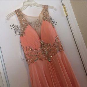 Dresses & Skirts - NWOT Coral/Peach Ball Gown